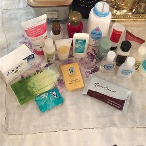 20 pc Mixed Lot of Hotel Toiletries Travel Size